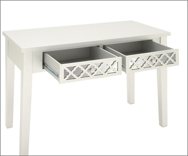 GET 45% OFF + FREE SHIPPING ~ Covevale Wood and Mirror Vanity Desk ~ SAVING YOU OVER $113!.png