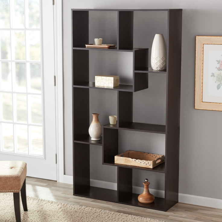 GET 51% OFF + FREE SHIPPING ~ Mainstays 8-Cube Bookcase in White or Espresso ~ THAT'S ONLY $39!.jpeg