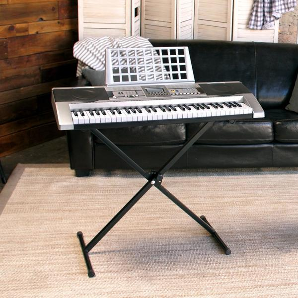 GET 60% OFF + FREE SHIPPING ~ 61 Key Electronic Keyboard with X-Stand ~ SAVING YOU OVER $119!