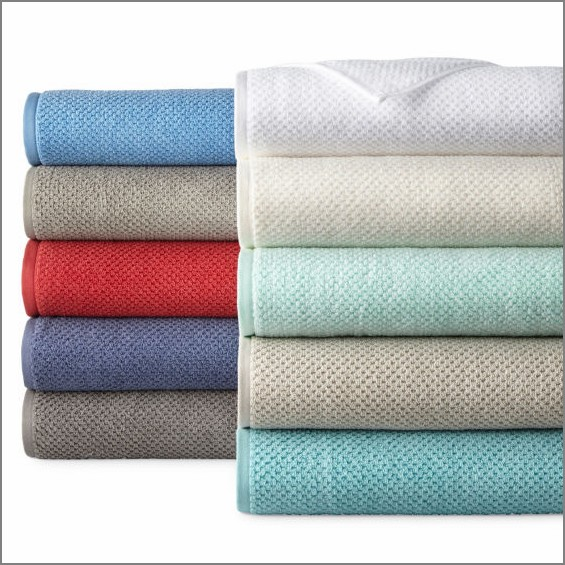 GET 64% OFF ~ Beautiful Quick Dri Textured Solid Bath Towels in Amazing Colors ~ Stock Up & Save Big ~ SAVE OVER $9 PER TOWEL!.jpg