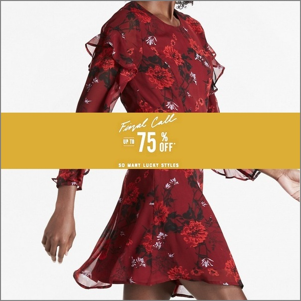 GET UP TO 75% OFF ~ The Lucky Brand Final Sale ~ So Many Lucky Styles!